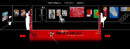 Bestandteile der virtuellen Kunstgalerie