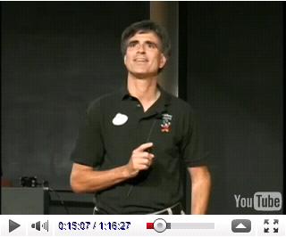 """Vortrag, Lesung, Last Lecture von Randy Pausch: """"Achieving your chieldhood dreams"""""""